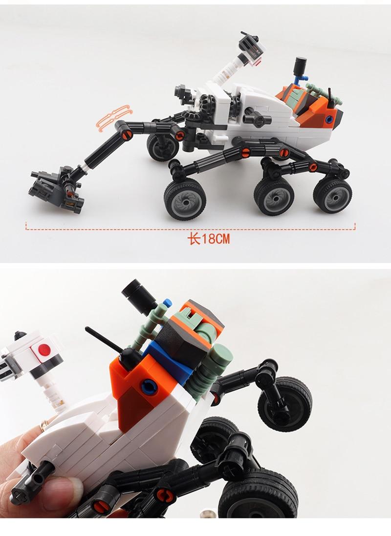 Sluban B0733 Space Adventure Exploration Robot Machine