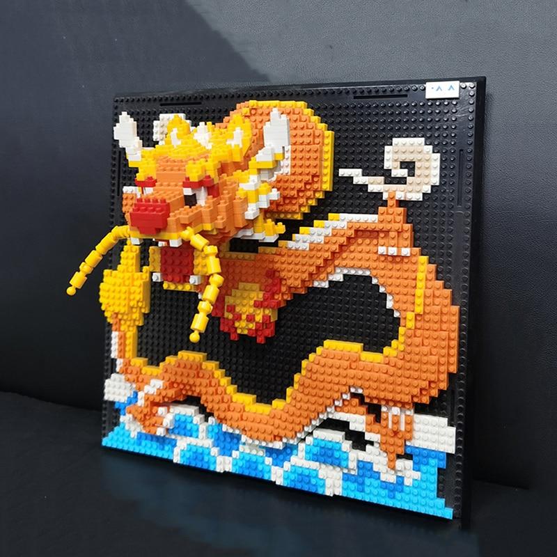 DAIA 66873 Loong Dragon Monster Wall Painting