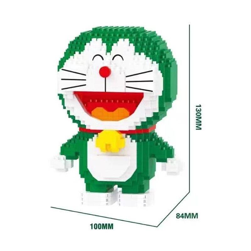 LP 210570 Doraemon in Green Smiling