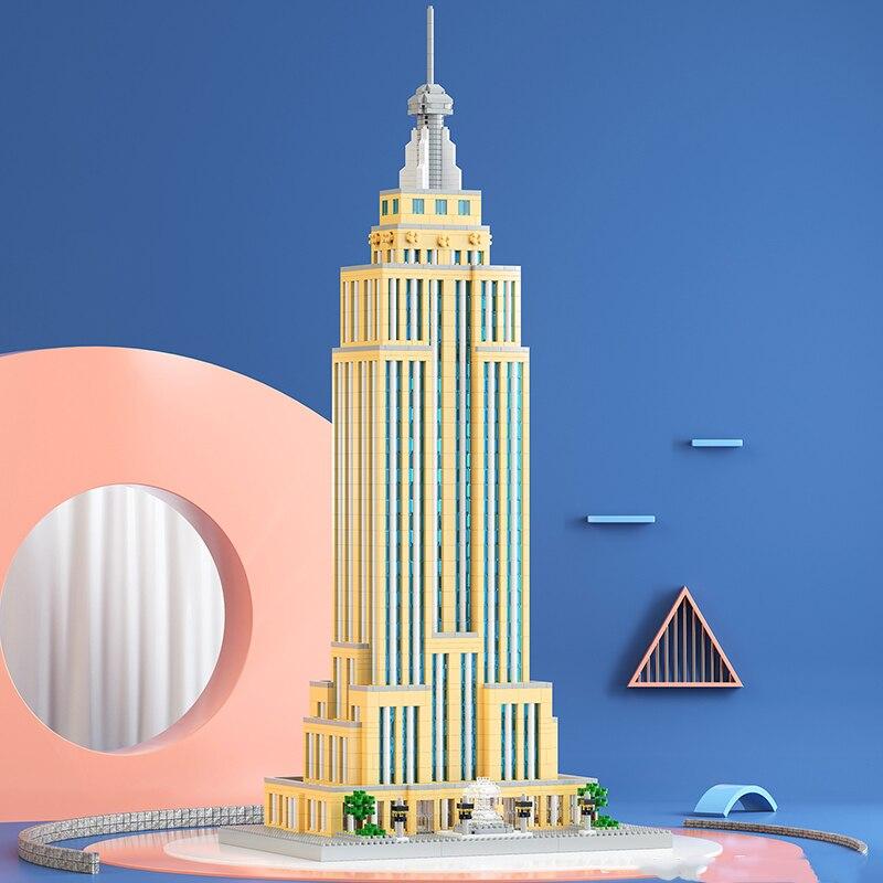 Lezi 8192 New York Empire State Building