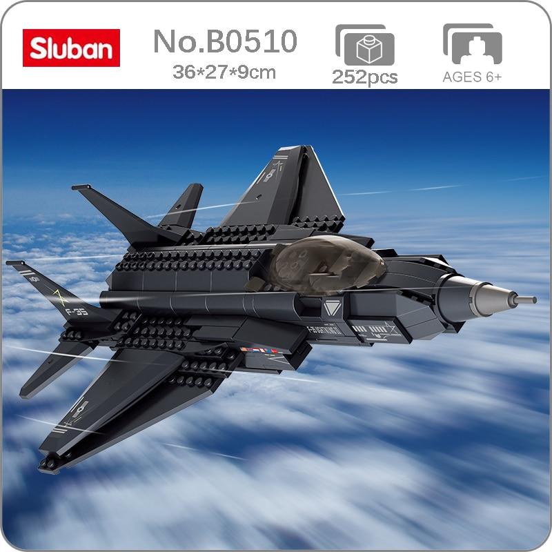 "Sluban B0510 Air Force: F-35 ""Lightning Ⅱ"" Fighter"