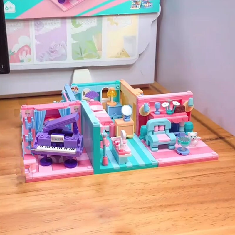 Sluban B0757 Pink Dream House