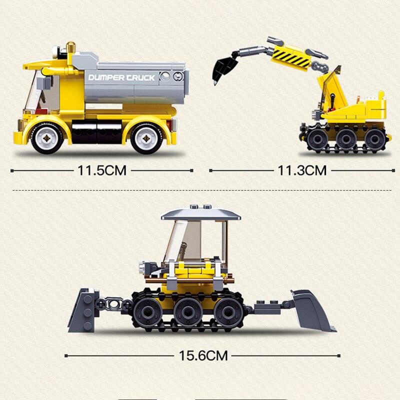 Sluban B0810 Construction Vehicle