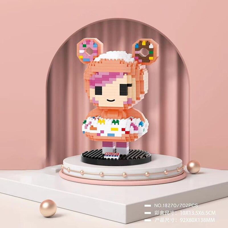 Balody 18270 Sweet Doughnut Donut Dessert Girl