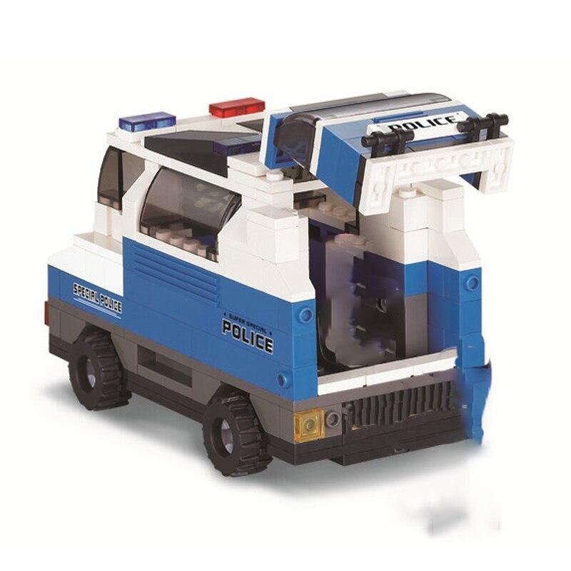 Sluban B0189 Prisoner Transport Vehicle Building Set